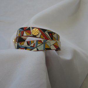 Tory Burch NWOT Color Block Reversible Bracelet